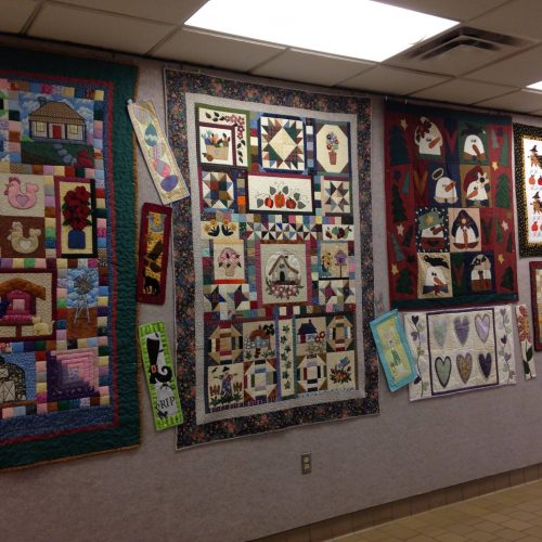 Lobby Display_2015 Quilt